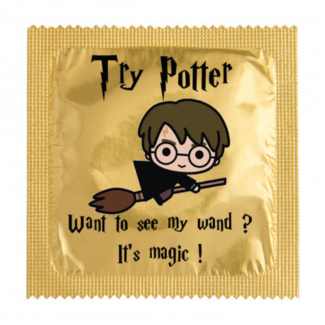 Préservatif Try Potter Want to see my wand ?
