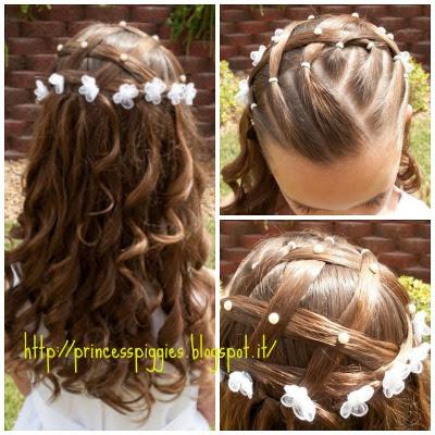 acconciature capelli bambina cerimonia - Acconciature per bambine ecco i consigli della parrucchiera YouTube