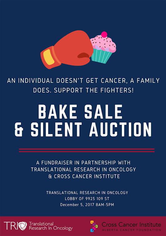 Bake Sale and Silent Auction to Help Families Affected by Cancer