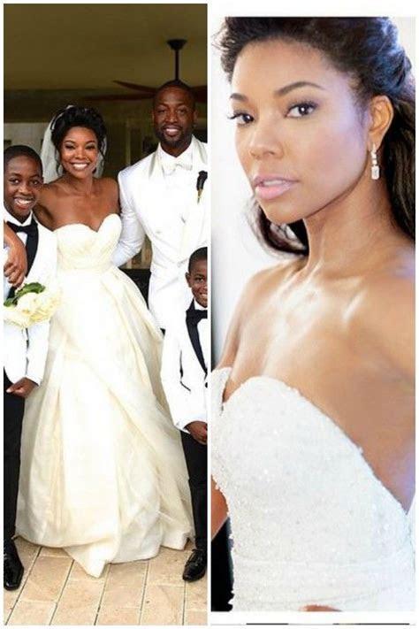 gabrielle union wedding dresses   My Style   Wedding