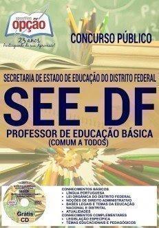 Apostila seed/df PROFESSOR DE EDUCAÇÃO BÁSICA COMUM A TODOS