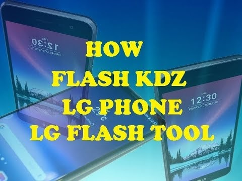 How to Flash Stock ROM on LG X Power Using LG Flashtool KDZ Method