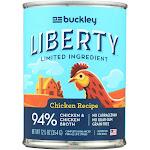 Buckley - Liberty Wet Food Chicken - Case Of 12 - 12.5 Oz