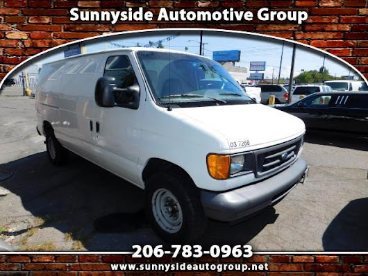 Used 2007 Ford Econoline E-250 for Sale in Seattle WA 98133 Sunnyside Automotive Group