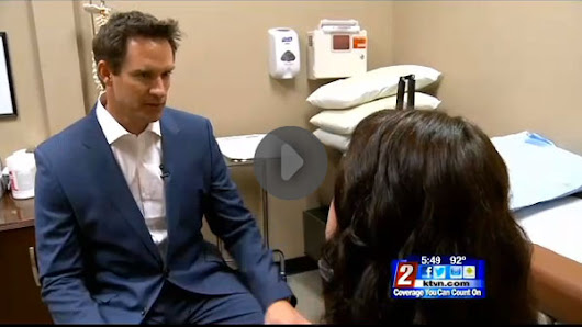 Dr. Patterson featured on KTVN TV News - NV Advanced Pain