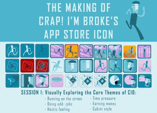 The Making of Crap! I'm Broke's App Store Icon