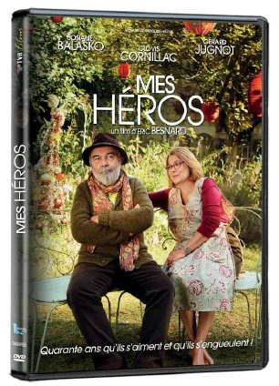 DVD Mes héros