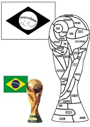 Coloriage Coupe Du Monde La Coupe Coloriage Coupe Du Monde
