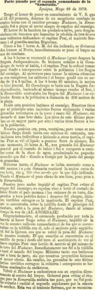 parte esmeralda 29 05 1879