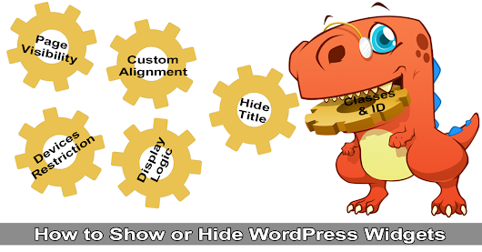 How to Show or Hide WordPress Widgets