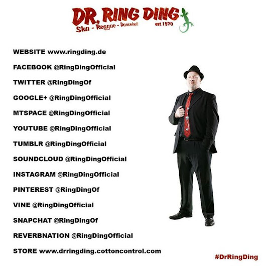 Dr. Ring Ding — Follow me on my OFFICIAL social networks....