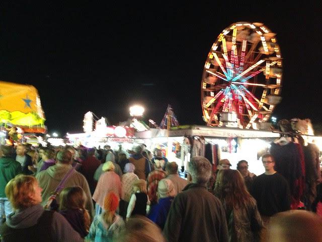Tunbridge Fair - night