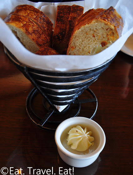 Bistro Boudin: Sourdough Bread and Butter-  Fisherman's Wharf, San Francisco, CA
