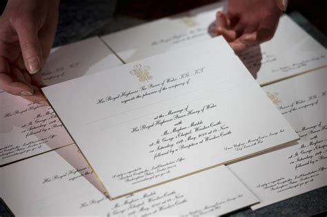 Differences From Will & Kate's Wedding Invite to Harry