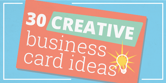 30 Creative Business Card Ideas & Designs to Help Yours Stand Out