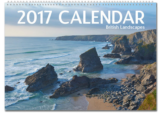 2017 UK Landscape Photography Calendar | Scenic Calendar featuring photos from around the British Isles
