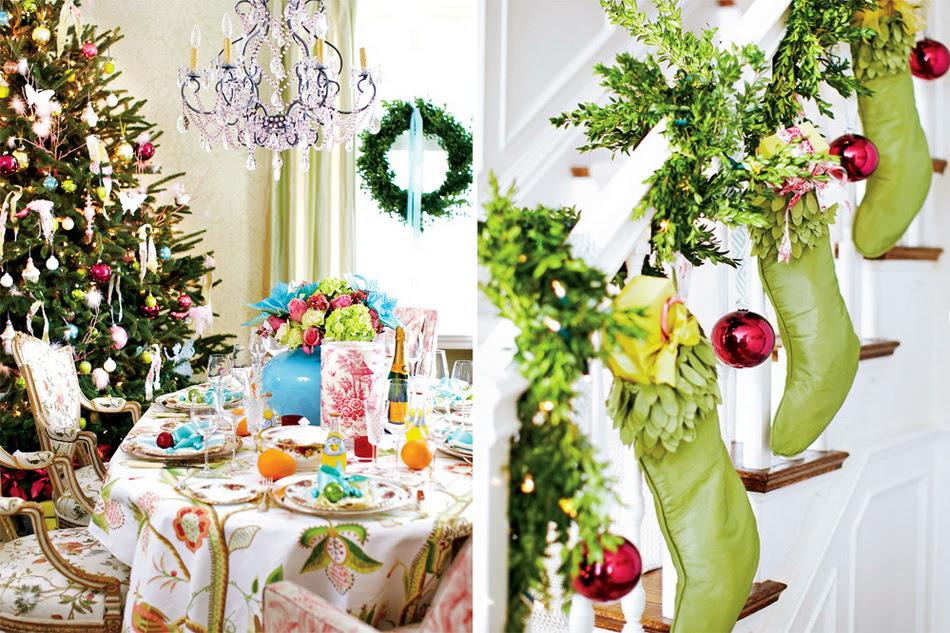 54 Colorful Christmas Inspiring Decor Ideas | DigsDigs