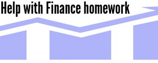 Finance Coursework Help | Finance Assignment Help | Finance Homework Help
