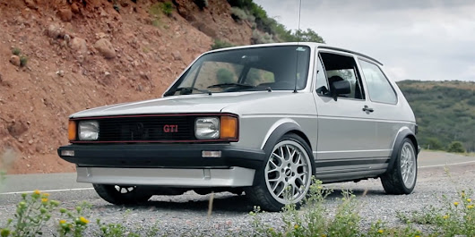 Video: Everyday Driver Tests Mk1 Golf with 1.8T Power - VWVortex