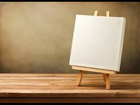 YOUR LIFE IS LIKE A BLANK CANVAS! HOW WILL YOU PAINT IT? - YouTube