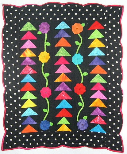 Beautiful Doll Quilt