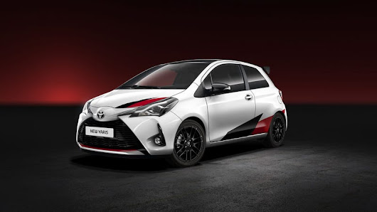 The 2018 Toyota Yaris GRMN Gets Double The Horsepower From A Supercharged Four