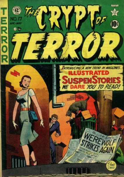 Crypt of Terror 17 - abril 1950 - crime `patrol - 28 editoriales