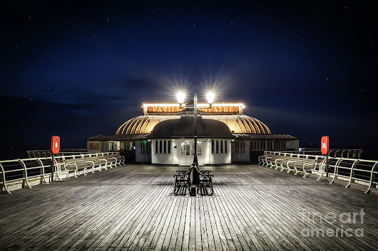 Cromer Pier Pavilion At Night by Simon Bratt Photography LRPS