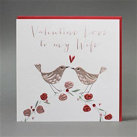 Handmade Valentine Love To My Wife Valentine's Day Card