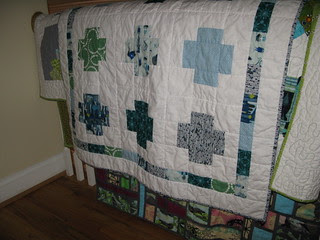 Finally done!  Boy Across the Sea Quilt