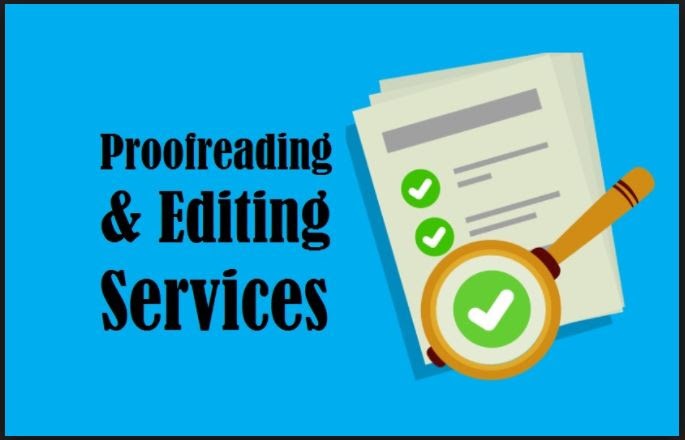 proofreading and editing services