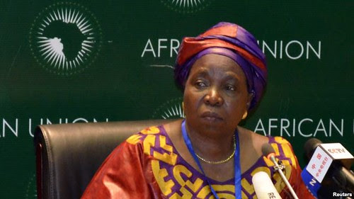 Republic of South Africa Home Affairs Minister Nkosazana Dlamini-Zuma was elected as the African Union Commission Chair at the Summit held in Addis Ababa, Ethiopia on July 15-16, 2012. She is the first woman and Southern African to be elected to the post. by Pan-African News Wire File Photos
