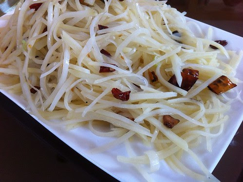 shredded potato