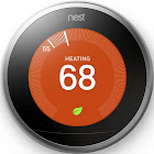 Nest Learning Thermostat 3rd Generation T3007ES - Wi-Fi/Bluetooth - Android/iOS - Stainless Steel