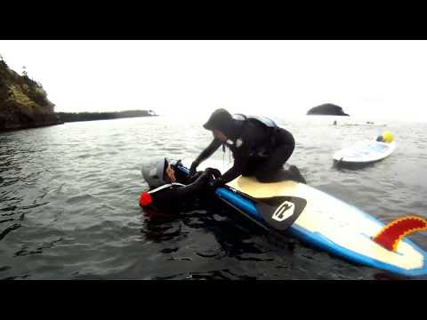 How to Save a Paddler - The Flip Rescue for Stand Up Paddlers