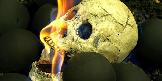 You Can Buy Skulls for Your Fire Pit from Amazon Now - GeekMom