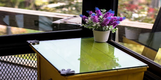 Using Glass to Create a One-of-a-Kind Table or Countertop | Michaels Glass