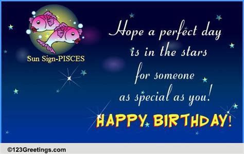 Happy Birthday Pisces! Free Zodiac eCards, Greeting Cards
