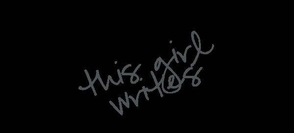 This Girl Writes