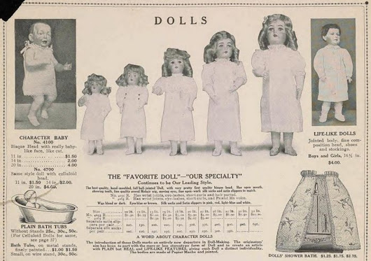 102-year-old toy catalog shows what rich children did for fun
