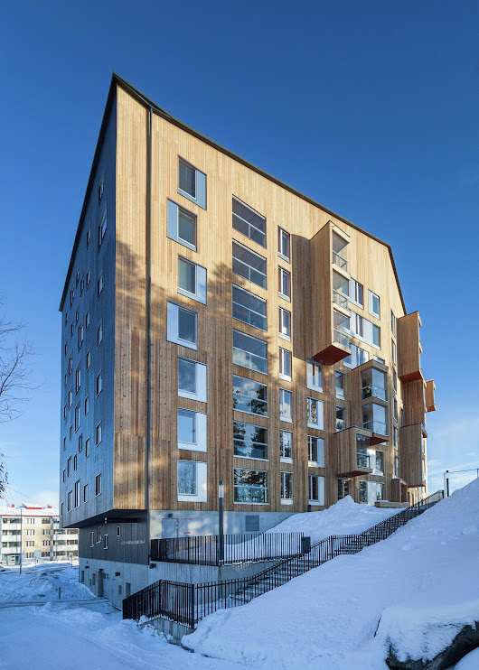 OOPEAA's Puukuokka Housing Block Wins 2015 Finlandia Prize