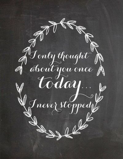 3 I Never Stopped Thinking Of You Today Inspiring Quotes And
