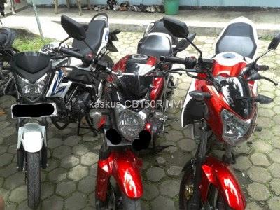 Komparasi Body Yamaha New Vixion Lightning Vs Yamaha Byson Vs Honda