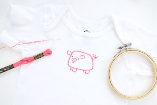 How To  Embroider On Your Child's T-shirts – Needle Work