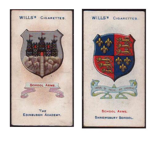Wills's Arms of Public Schools