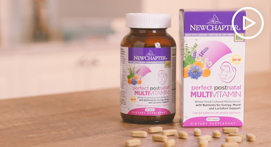 Done With Prenatal Vitamins? Time for Postnatals! - Thrive Market