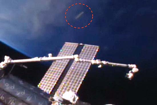 Ovni cigarro ISS