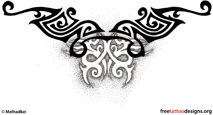 Free Tattoo Designs Tribal Zodiac Cross Star Tattoos Ideas