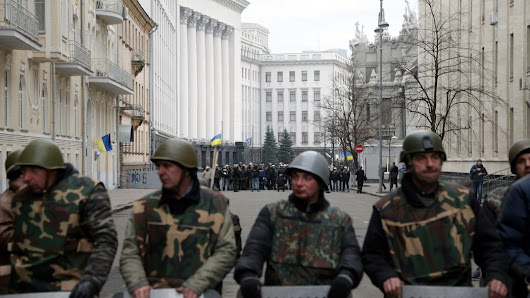 Ukraine's Leader Flees Palace as Protesters Widen Control
