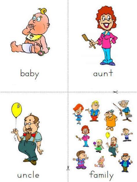 resimli ingilizce aile ueyeleri
